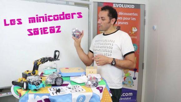 Les minicoders #S01E02 : Présentation des robots programmables (par Evolukid)