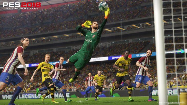 PES 2018 est disponible (PC, PS4, Xbox One)