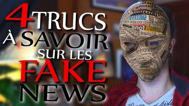 Vidéo : 4 trucs à savoir sur les fake news (par la chaîne Poisson Fécond)
