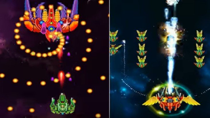 Le jeu mobile du jour : Galaxy Attack Alien Shooter (Android – iOS)