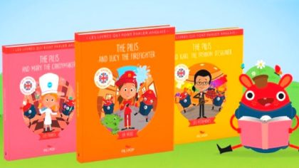 Pili Pop sort 3 nouveaux livres immersifs pour apprendre l'anglais