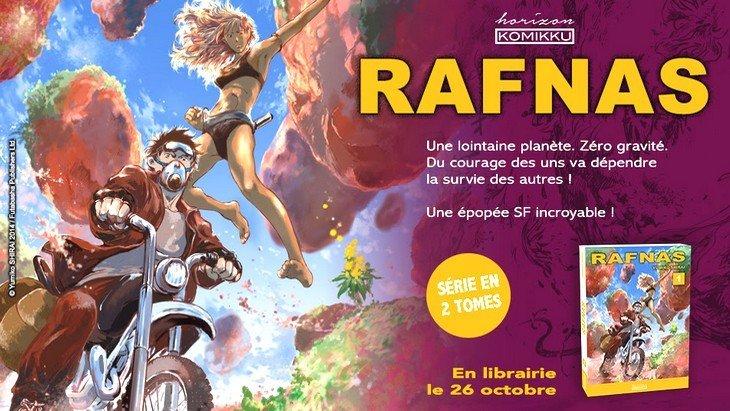 Sortie manga : «Rafnas», une œuvre de science-fiction qui promet