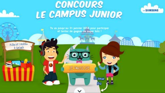 Le Campus Junior par Samsung lance un concours Scratch pour les 7-13 ans