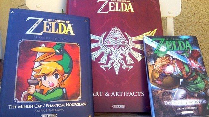 The Legend of Zelda : un beau livre et deux mangas chez Soleil Manga