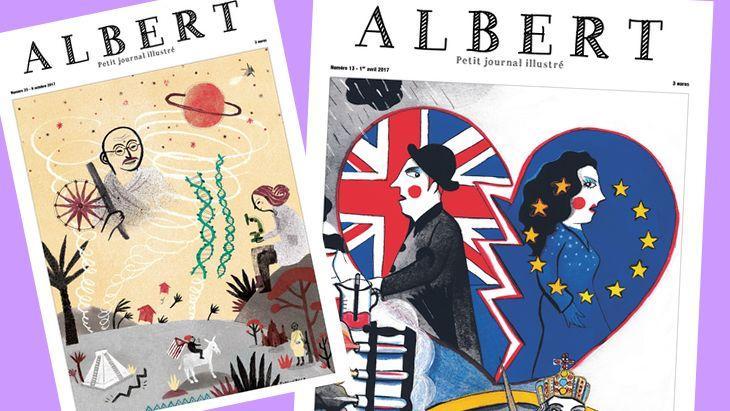 Albert, le journal d'actualité pour les pré-ados sort son application