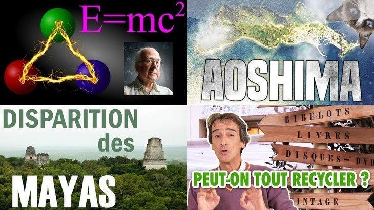 Apprendre avec YouTube #47 : e-penser, CuriosiTea, Les Bons Profs, L'Antisèche…