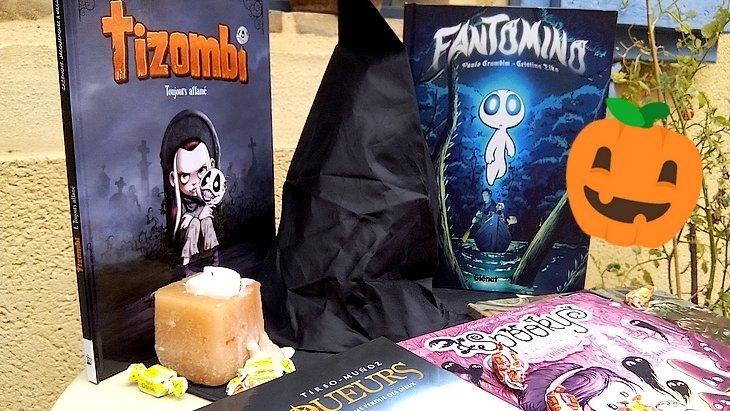 5 BD à lire pour Halloween avec Tizombi, Spookie, Fantomino…