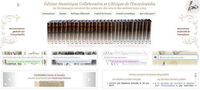 encyclopedie homepage