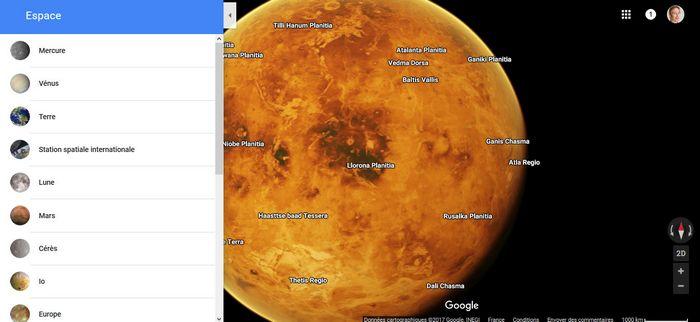 google-maps-venus