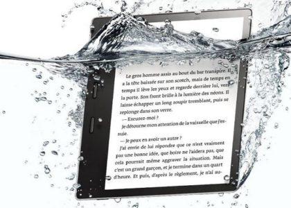 Sortie de la nouvelle liseuse Kindle Oasis d'Amazon 7 pouces