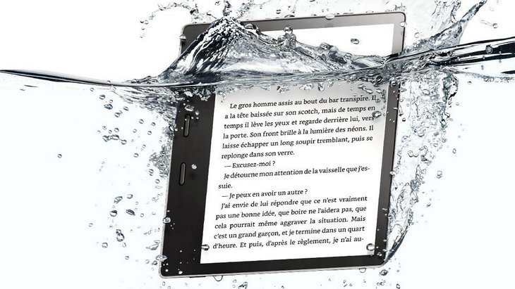 La nouvelle liseuse Kindle Oasis d'Amazon disponible