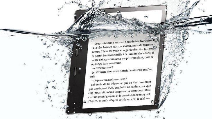 La nouvelle liseuse Kindle Oasis d'Amazon disponible