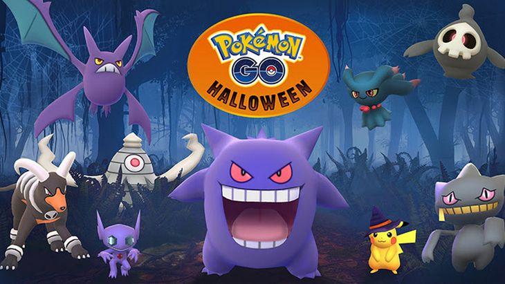 Pokémon GO présente son événement spécial Halloween !
