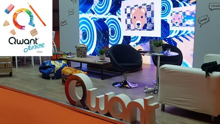 Découvre Qwant Junior à la Paris Games Week