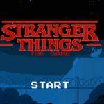 stranger things mobile game