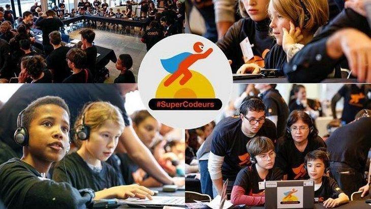 #SuperCodeurs 2017 : des ateliers pour s'initier au code dans 36 villes de France