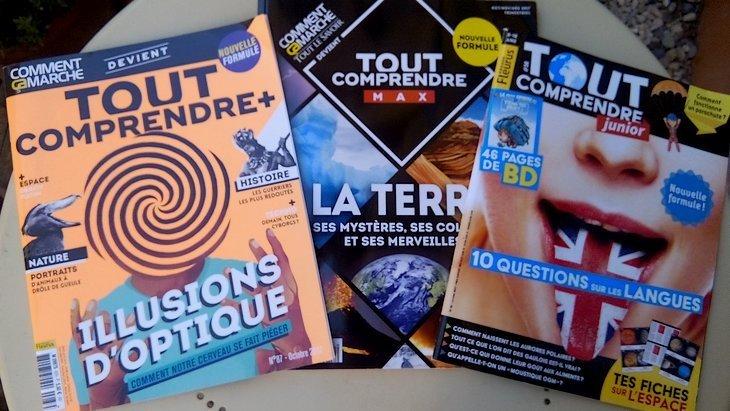 Tout Comprendre : 3 magazines pour développer ta curiosité