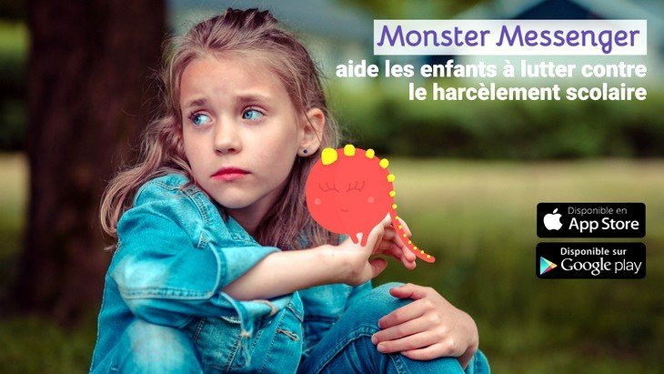 Monster Messenger lance un chatbot pour lutter contre le harcèlement scolaire