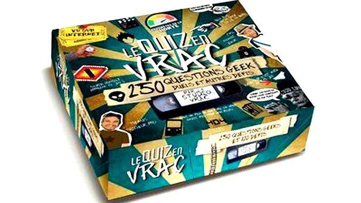 Le Quiz en vrac – 250 questions Geek dans un jeu de société !