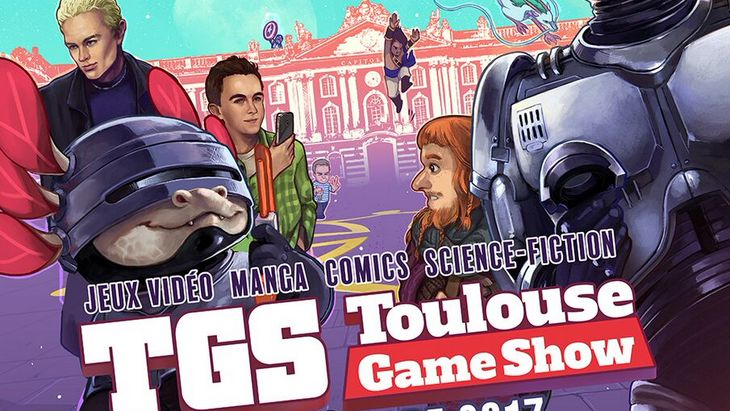 Toulouse Game Show (TGS) : le salon de la culture geek les 2 et 3 décembre 2017