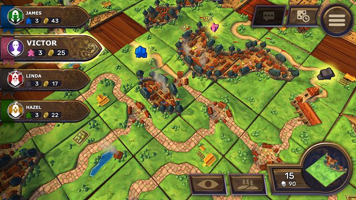 carcassonne 3d gameplay