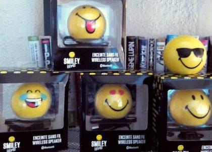 Idée cadeau : l'enceinte Smiley sans fil Bluetooth