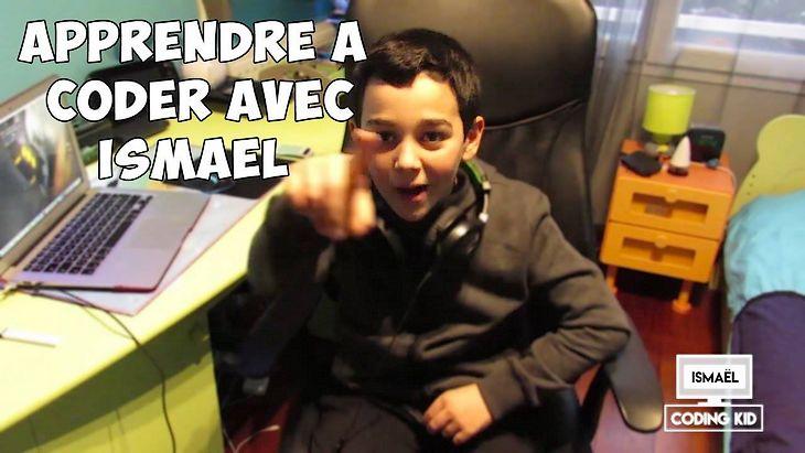Ismaël, 13 ans, t'apprend à coder sur sa chaîne Youtube