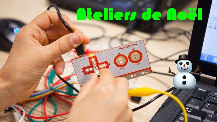 Code, robotique, vidéo, 3D… Quels ateliers à Noël ?