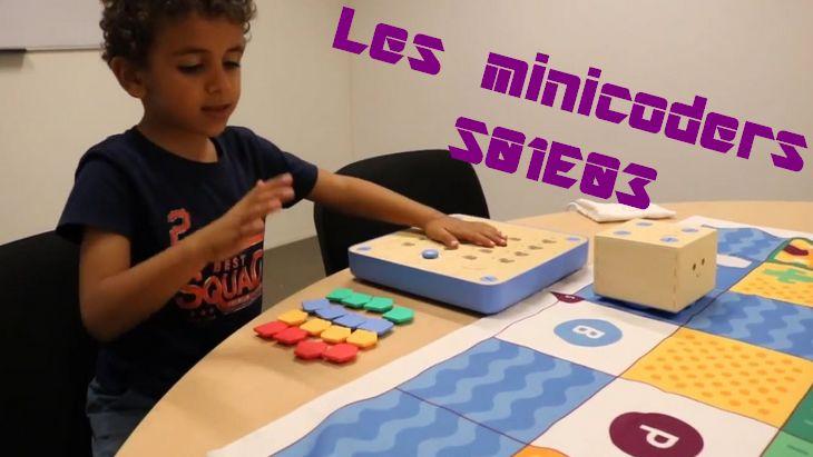 Les minicoders #S01E03 : Utilisation des robots Cubetto, Bluebot et Ozobot (par Evolukid)