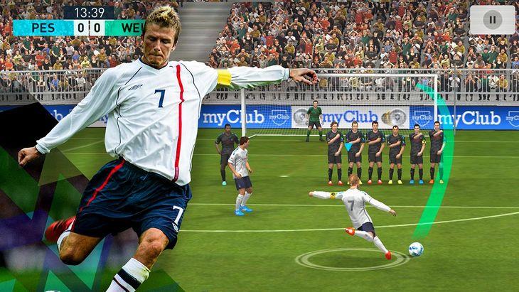 Jeu mobile du jour : PES 2018 Pro Evolution Soccer (iPhone / Android)