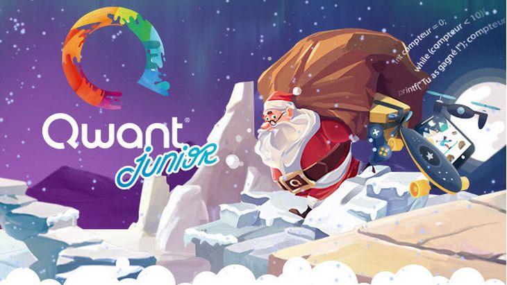 En attendant Noël, joue et code avec Qwant Junior et Crazy Dreamz