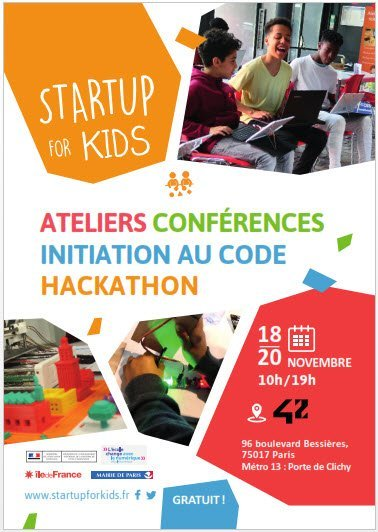 startup for kid 2017 affiche