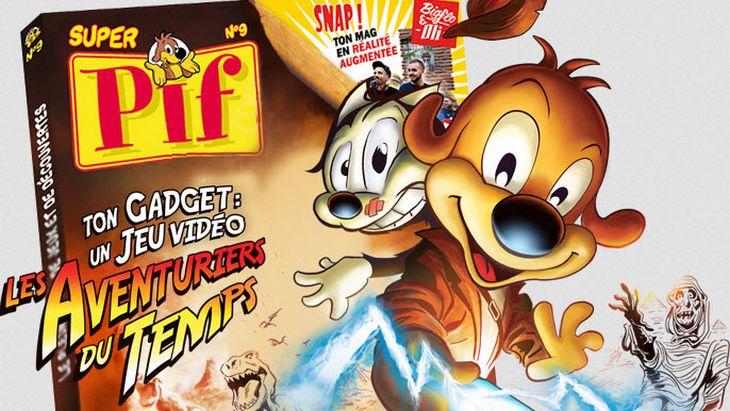 Le dernier Super Pif Gadget en réalité augmentée et avec un jeu vidéo !