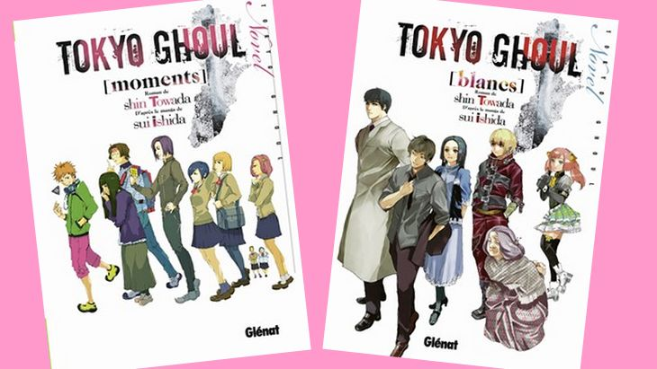 Tokyo Ghoul : déjà deux romans publiés chez Glénat