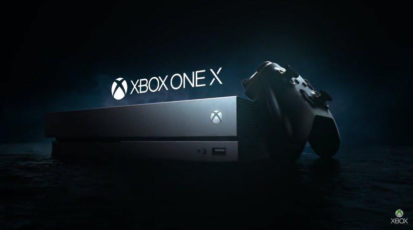 La nouvelle console de jeux Xbox One X est disponible !