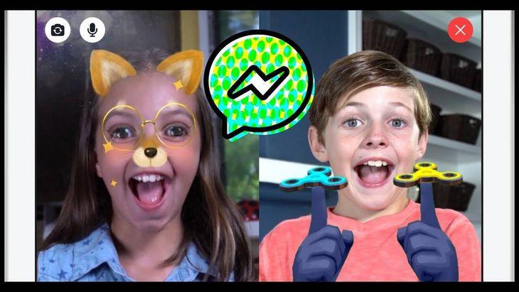 Facebook lance Messenger Kids, l'appli de messagerie pour les enfants