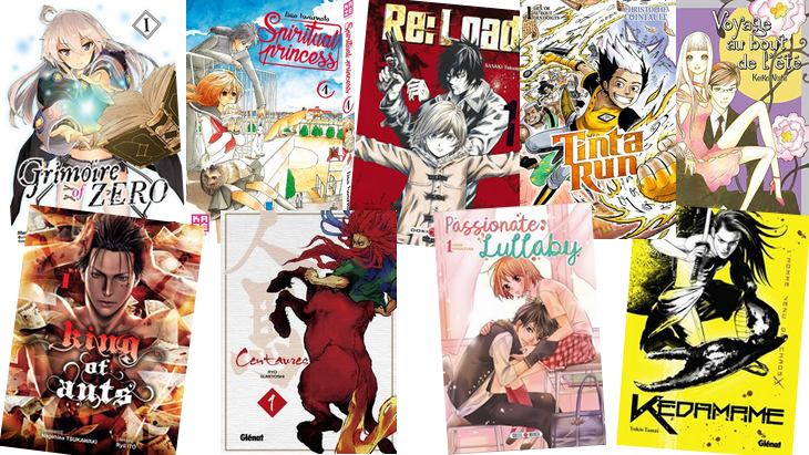 Manga : 10 nouvelles séries pour commencer 2018