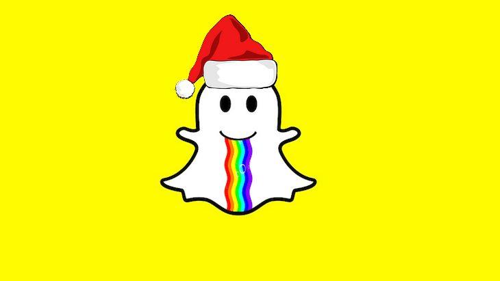 Comment fêter Noël et le réveillon sur Snapchat ?