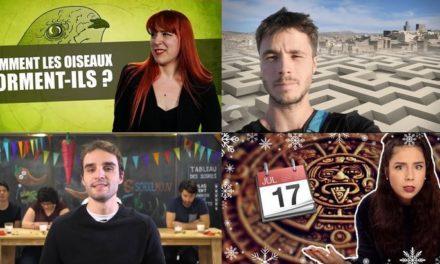 Apprendre avec YouTube #61 avec Dirty Biology, L'Esprit Sorcier, Les Bons Profs…