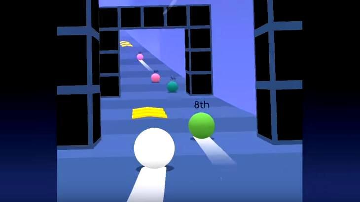Le jeu mobile du jour : Balls Race (App Store / Google Play)