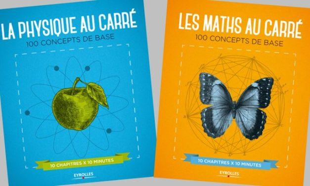 «La science au carré» aux Éditions Eyrolles
