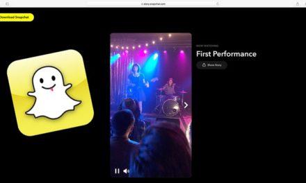Partager ses stories Snapchat à l'extérieur de l'application, c'est désormais possible