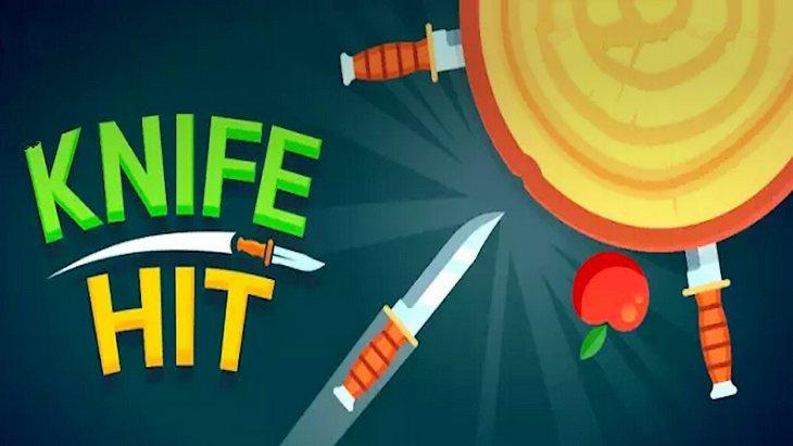 Knife Hit, un jeu mobile rigolo où tu te prends pour un lanceur de couteaux