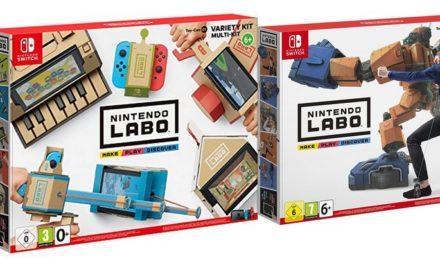 Les kits Nintendo Labo déjà en précommande