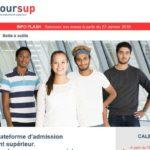 Parcoursup est ouvert : sites web, fiches et infographie pour s'informer