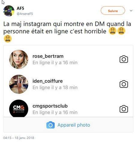 statut Instagram