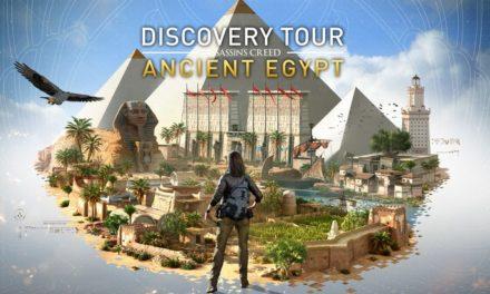 Assassin's Creed : découvre la Grèce antique et l'Égypte ancienne avec le mode éducatif gratuit Discovery Tour