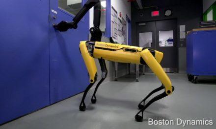 Quand un robots de chez Boston Dynamics sait ouvrir des portes