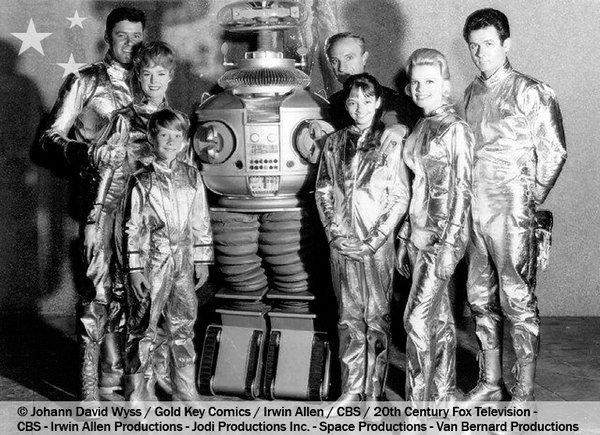 Perdus dans l'espace - les acteurs de la série originale