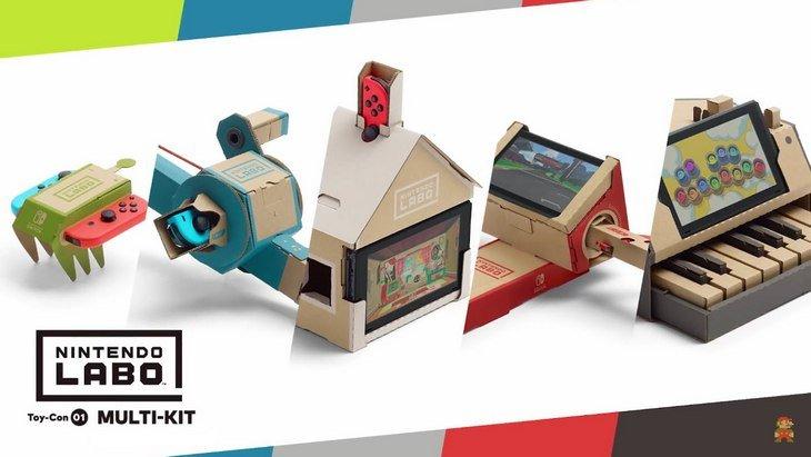 Nintendo Labo présente ses kits avec trois nouvelles vidéos